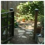 garden gate entrance