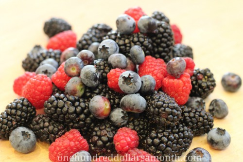 Easy Summer Recipes – Triple Berry Cornmeal Cake
