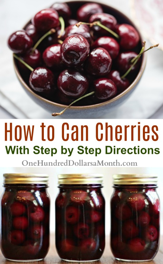 Canning 101 – How to Can Cherries