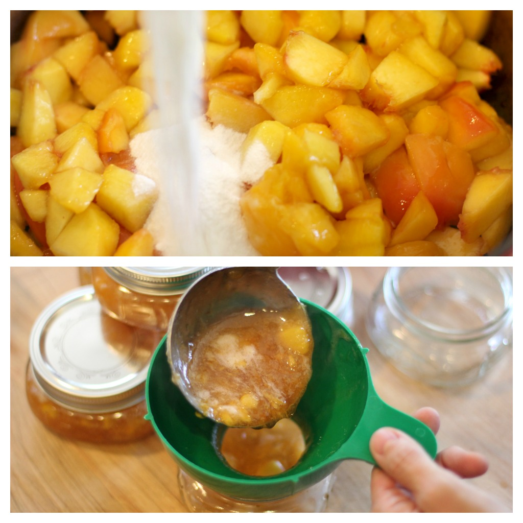 Canning 101 – How To Make Peach Jam