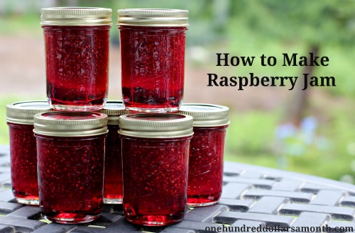Canning 101 – How to Make Raspberry Jam