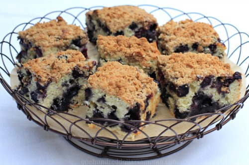 recipe blueberry buckle