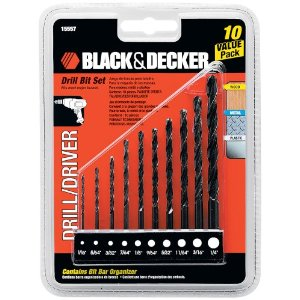 Amazon Tool Deals – Black & Decker Drill Bit Set, Edger, Toro Leaf Blower, 3M Earmuffs