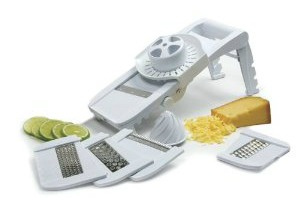 Amazon Deals – Apple Peeler, Slicer, Corer $12.99, Mandoline Slicer $17.57, Cutting Boards $5.45, Cast Iron Cookware + Knife Set