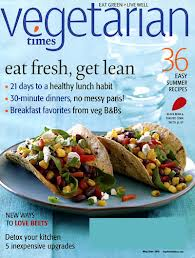 1 Year Subscription to Vegetarian Times Magazine Only $5.49!