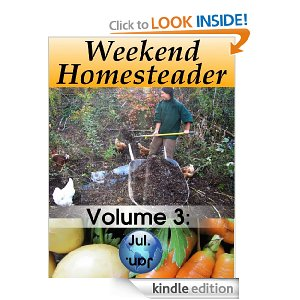Free Kindle Book – Weekend Homesteader JULY