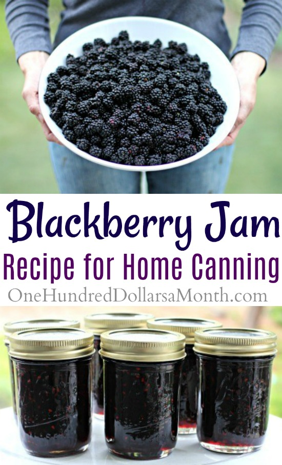 Canning 101 – How to Make Blackberry Jam
