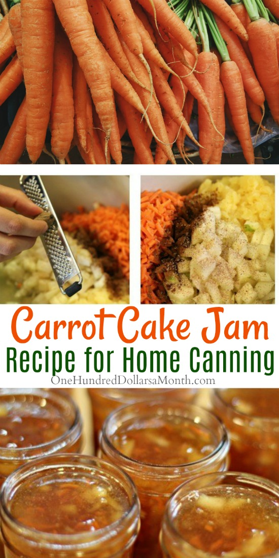 Canning 101 – Carrot Cake Jam Recipe