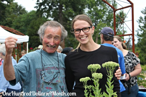 Mavis Meets Ciscoe Morris at the Highline Sea Tac Botanical Garden