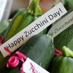 national zucchini day