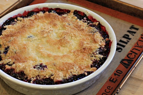 Recipe – Blackberry Cobbler