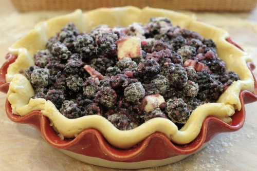 Recipe – How to Make a Crust for a Blackberry Pie
