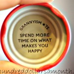spend more time on what makes you happy