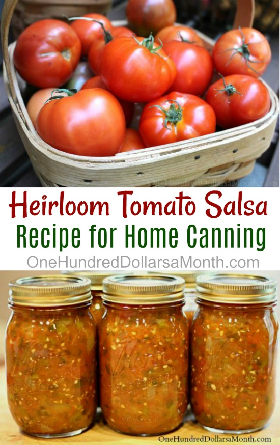 Canning 101 – Heirloom Tomato Salsa Recipe