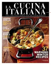 1 Year Subscription to La Cucina Italiana Magazine Only $4.99