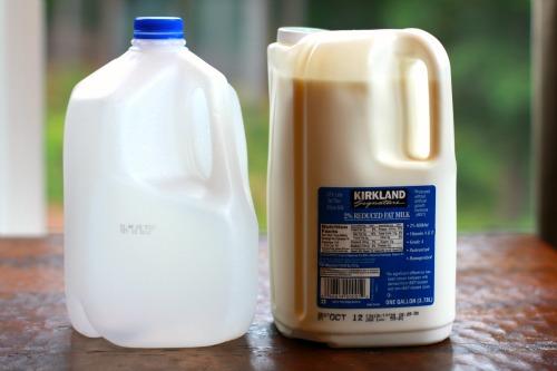 Costco Square Milk Jugs… They Stink!