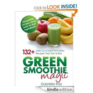 Amazon Free Kindle Books – Green Smoothies, Paleo Snacks, Natural Cleaning Recipes + Gardening