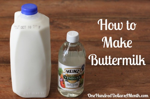 How to Make Buttermilk with Vinegar