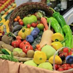Puyallup Fair – Fruit and Vegetable Display Tables