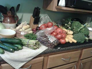 Ask and You Shall Receive – Reader Mika Sends in Her Free Produce Pictures