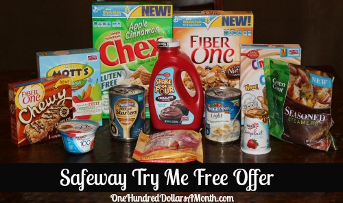 Shopping with Mavis – Safeway Try Me Free Rebate in Today's Paper!