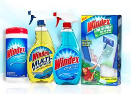 New Printable Coupons – Windex, Pledge, Scrubbing Bubbles, Shout Laundry Products
