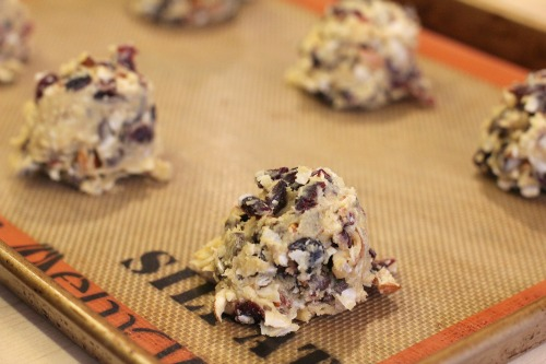 Easy Cookie Recipes – Chocolate Chip Cookies with Almonds, Cranberries and Coconut