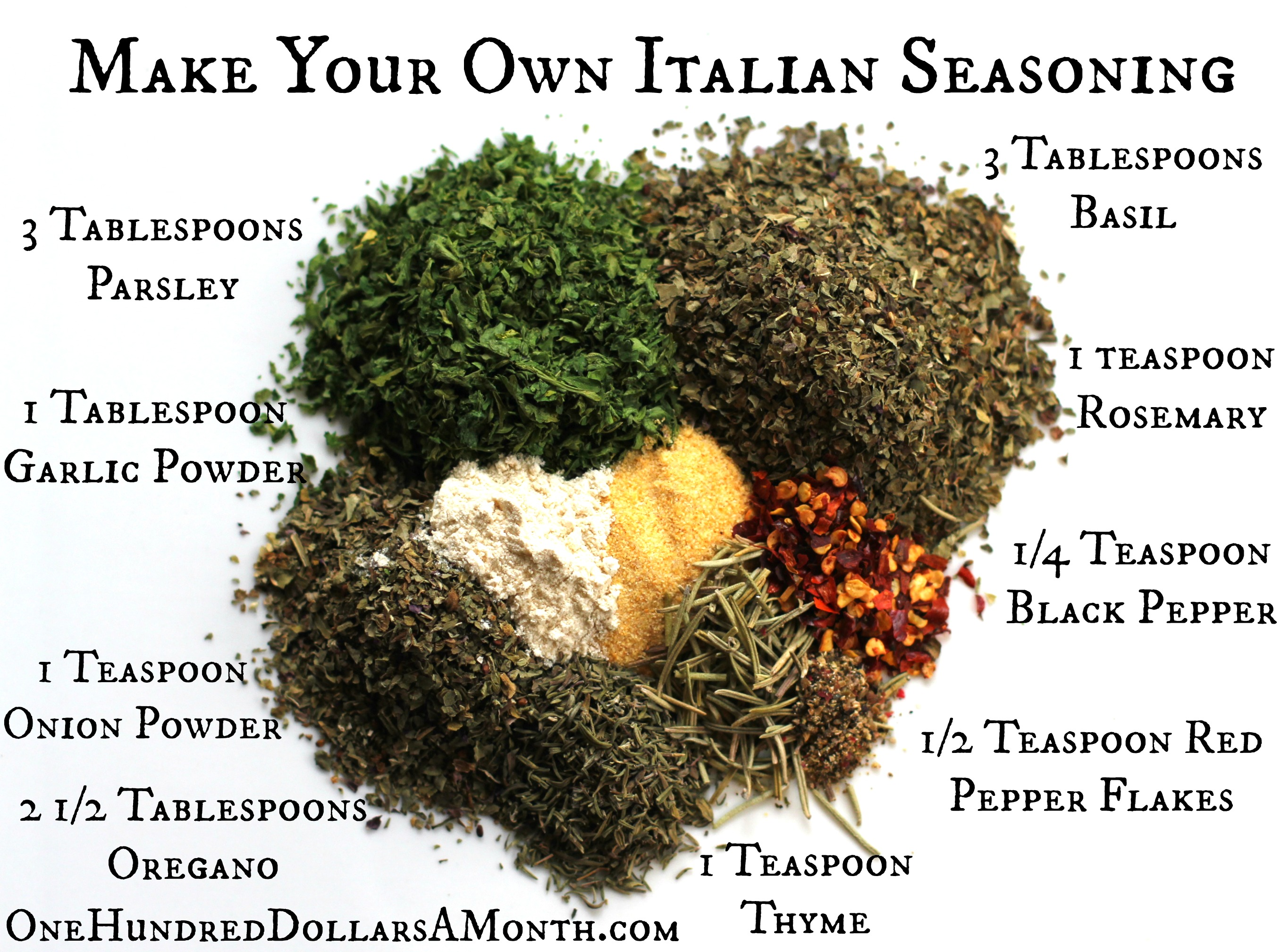 Easy Kitchen Tips – Italian Seasoning Recipe