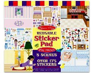 Melissa and Doug Deals – Stickers, Wooden Puzzles, Car Carrier + Responsibility Chart