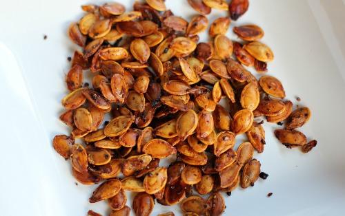 Fall Recipes - Roasted Pumpkin Seeds