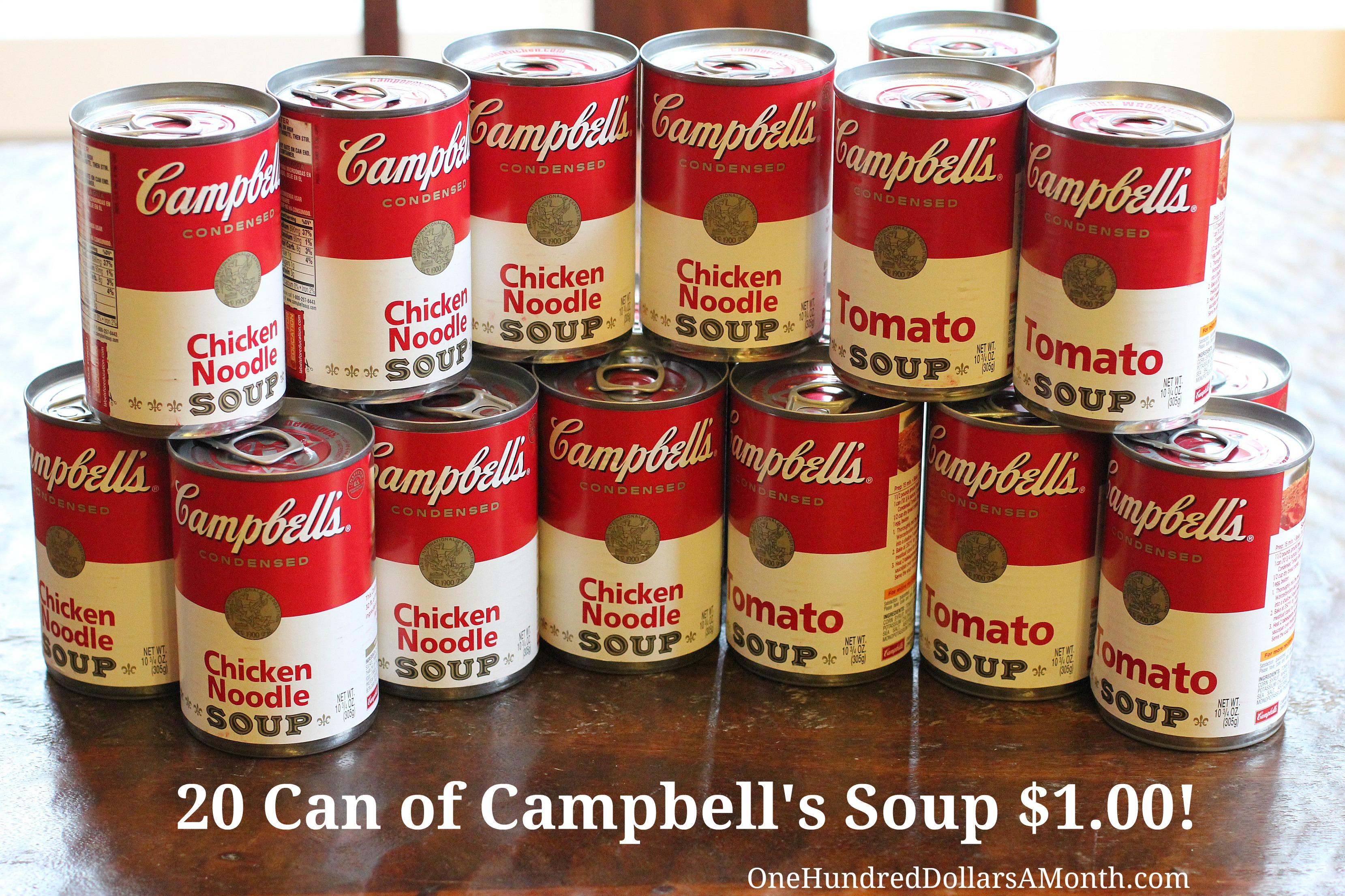 Albertsons – Campbell's Soup Only $.05 After Catalina!