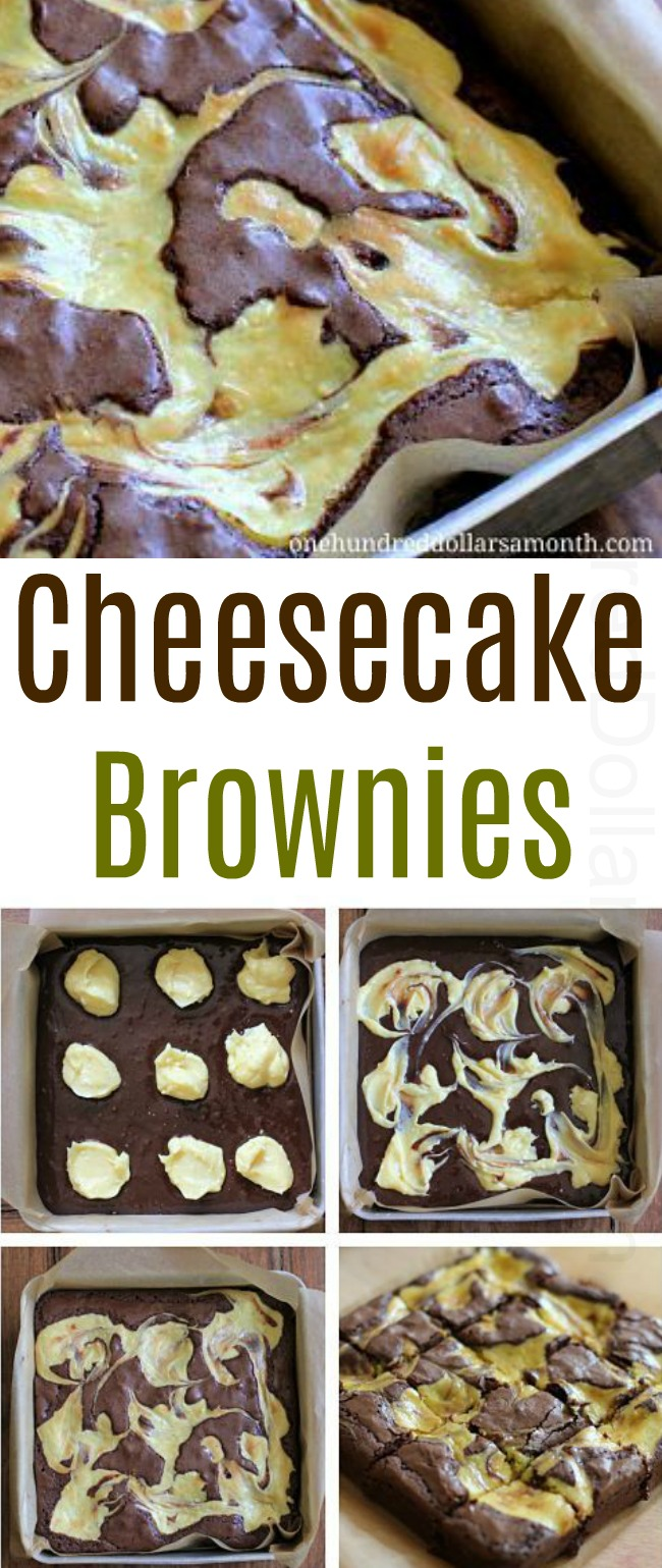 Easy Dessert Recipes – Cheesecake Brownies