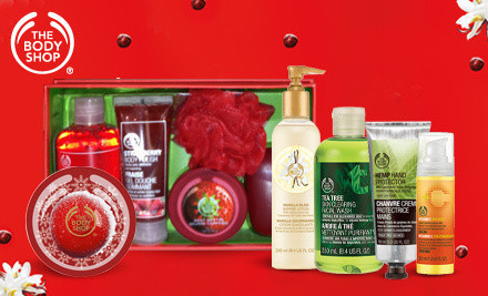 Groupon – $20 The Body Shop Voucher for Only $10!