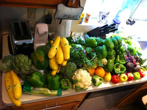 Ask and You Shall Receive – Reader Laura Sends in Her Free Produce Pictures