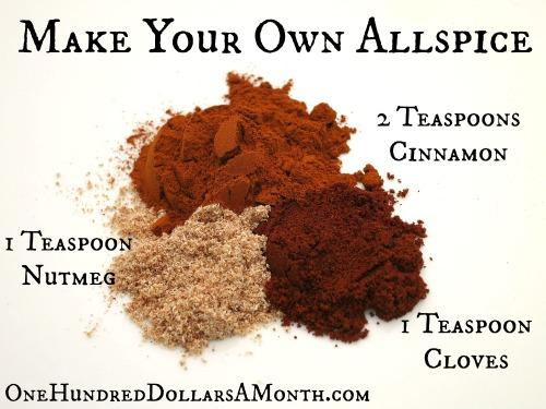 Easy Kitchen Tips – Allspice Substitute Recipe