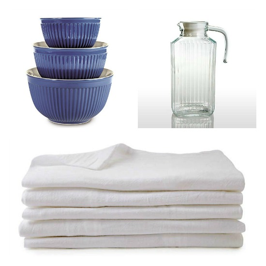 15 Flour Sack Towels $15 | Plus $15 off a $30+ Purchase
