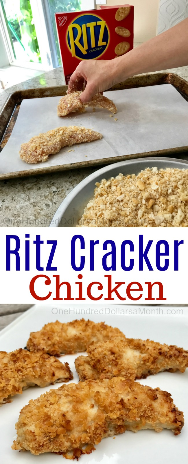 Easy Chicken Recipes – Ritz Cracker Chicken