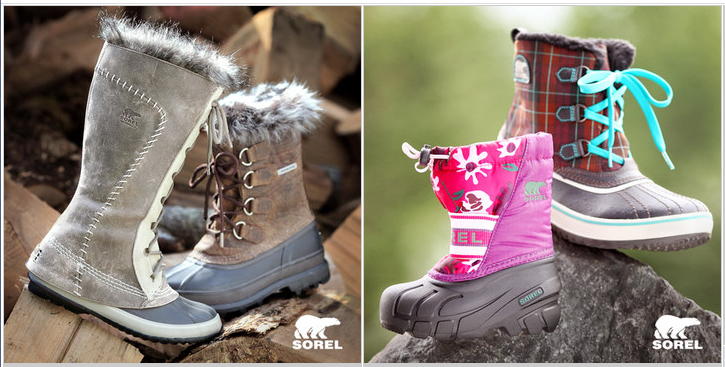 {Hot} Sorel Boots 50% – 60% Off! + $5 off Coupon Code