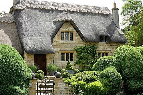 Thatched Roof Cottages One Hundred Dollars A Month