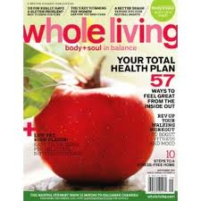 1 Year Subscription to Whole Living Magazine Only $3.99!