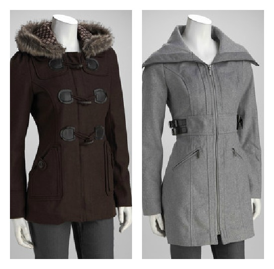 Zulily – Great Pea Coats Starting at $22.99!