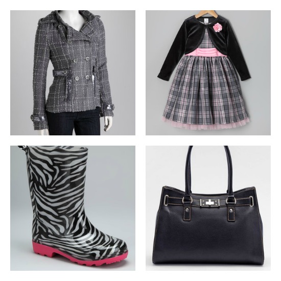 Zulily – Pea Coats, Rain Boots, Tote Bags and More