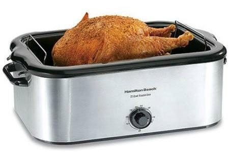 Amazon- Crock Pot Double Dipper, Turkey Apron, 22 Quart Roaster, Thanksgiving Dish Towels,