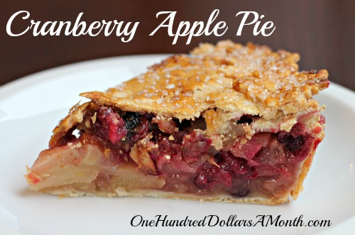 apple cranberry pie apple cranberry pie spiced apple cranberry pie ...