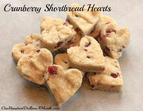 cranberry shortbread cookies recipe