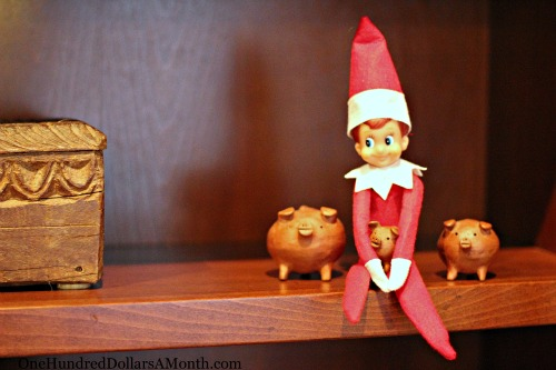 Elf on the Shelf – Could Monkey Boy Be Getting Coal This Year?
