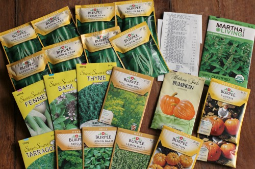 Shopping with Mavis – 21 Packets of Seeds for $0.15 at The Home Depot