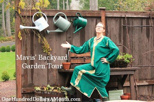 Mavis' Backyard Garden Tour – The Best One Yet!