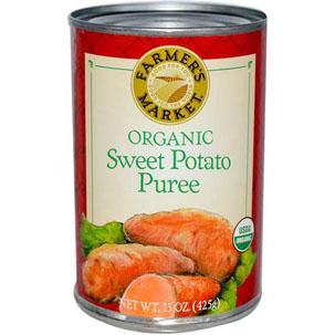 Farmer's Market Organic Sweet Potato Puree 15oz – $2.39