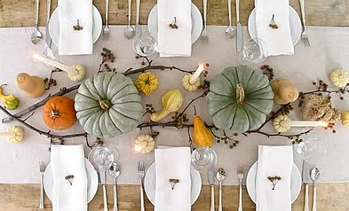 Thanksgiving Centerpiece Ideas | One Hundred Dollars a Month